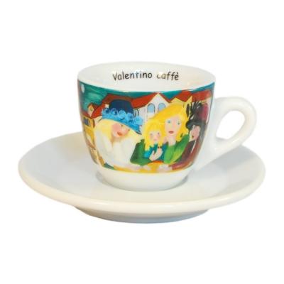 Filizanka do espresso kolorowa Valentino Caffe