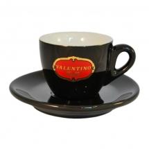 Filizanka do espresso czarna Valentino Caffe