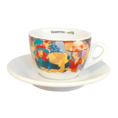 Filizanka do cappuccino kolorowa Valentino Caffe